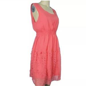 ULTRA PINK Salmon Color Dress Size L